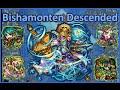 [Monster Strike] Beyond the Boundless Blue - Bishamonten!