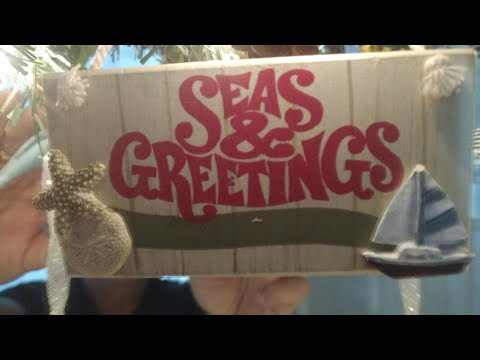 Christmas 2017-Nautical/ Island/ Cruise Ship Ornaments-Part 4 In Series 2017