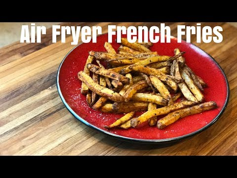 How to make air fryer french fries | Fresh cut fries in 15 min