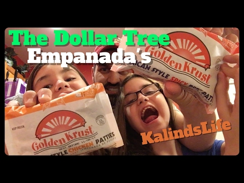 The Dollar Tree Jamaican Spicey Beef and Chicken Patties by Golden Krust Taste Test Review!