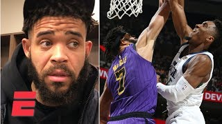 JaVale McGee doesn't mind getting dunked on by Donovan Mitchell | NBA 2018-19