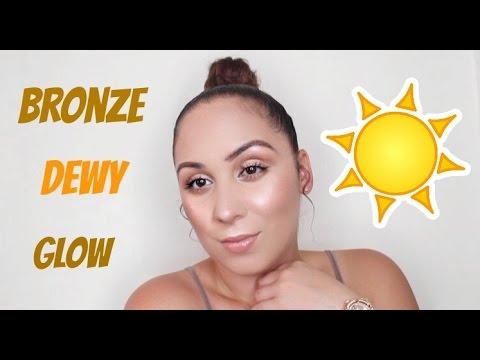 HOW TO ACHIEVE THE DEWY JLO GLOW + BRONZE SKIN