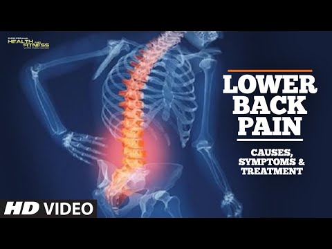 Lower back pain - It's causes, symptoms and treatment