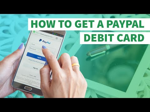 HOW TO GET A FREE PREPAID PAYPAL DEBIT CARD (LINK IN DESCRIPTION)
