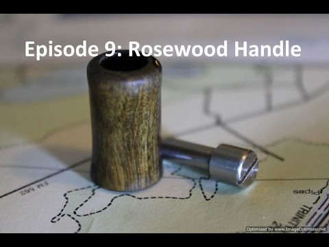 Homemade Fly Reel Ep. 9: Rosewood Handle