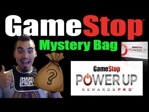 Gamestop PowerUp Rewards Mystery Bag!!! Whats Inside???