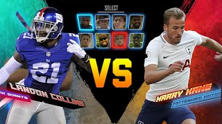 Landon Collins vs. Harry Kane | Giants vs. Tottenham| Game Recognize Game|  NFL vs. Premier League