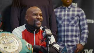 Download Floyd Mayweather Official Daily Number Press Conference Video