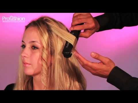 How to get beautiful curls with the Profashion Professional Flat Iron