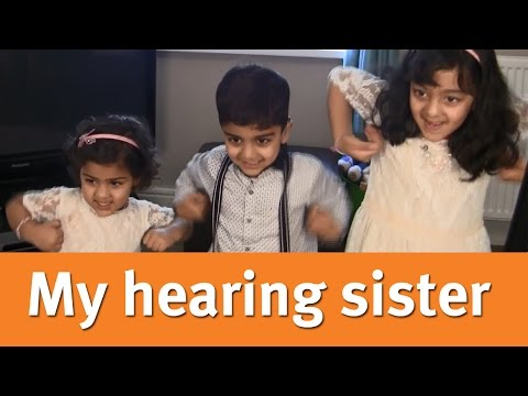 My deaf children and their hearing sister