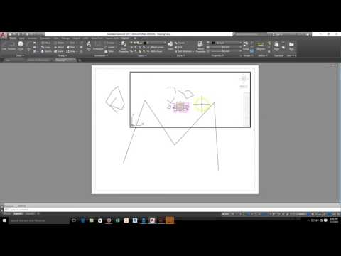 AutoCAD 2017-VIEW PORT- SCALE- TEXT -PRINTING