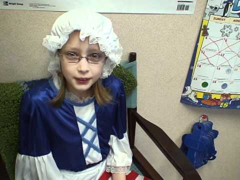 Kathryn as Betsy Ross