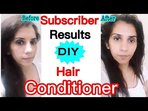 DIY Hair Conditioner for Smooth, Silky Hair   How to Control Frizzy Hair + Stay Quirky 40% Discount