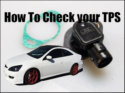 How to Test Your Honda Throttle Position Sensor