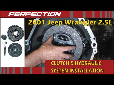 2001 Jeep Wrangler 2.5L Clutch and Hydraulic System Installation