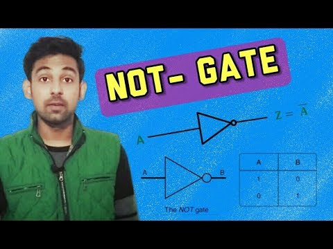 NOT - Gate In Hindi By Nirbhay Kaushik ( Digital Electronics )