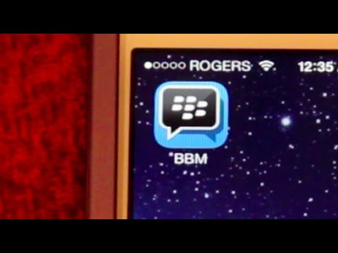 How to get BBM (Blackberry Messenger) on iPhone Tutorial iPad