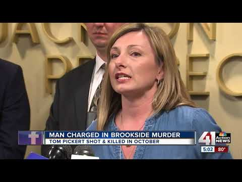 Man charged in murder of Brookside attorney