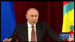 "Word For Word: Russian President Accuses ""certain Forces In U.s."" Of Downplaying Summit (c-span)"