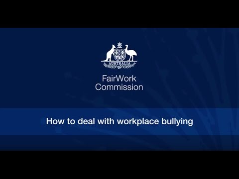 3  How to deal with workplace bullying