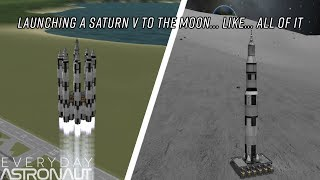 Launching an Entire Saturn V to the Moon (ft. Matt Lowne)