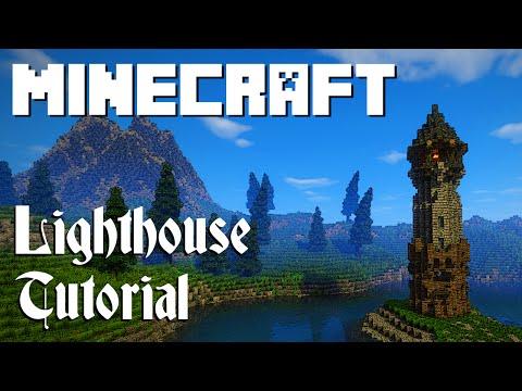 Minecraft Tutorial: Lighthouse (Graywatch)