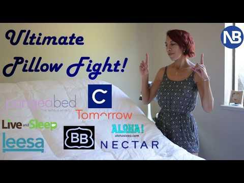 Pillow Fight! Pillow Reviews: Casper Vs  Leesa Vs  Nectar Vs  Tomorrow Sleep Vs  Pangeabed Vs  More