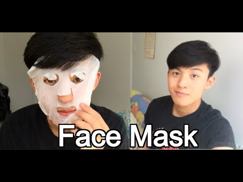 Asian Guy Tries Face Mask For The First Time