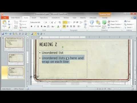 PowerPoint Tutorial: How to increase readability of bullet points