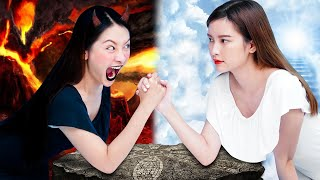 DAY GIRL vs NIGHT GIRL | Prank Wars Ideas and Funny Moments That We Will All Laugh By T-FUN