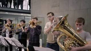 Download Flash Mob at the Science Museum. Royal College of Music Philharmonic play Holst's Planets Video