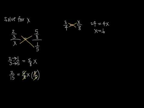 complex fractions, ratio and proportion (KristaKingMath)