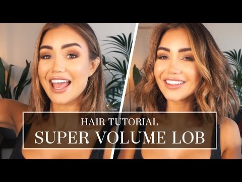 HOW TO GET SUPER VOLUME IN YOUR LOB USING LUXY HAIR EXTENSIONS | Pia Muehlenbeck