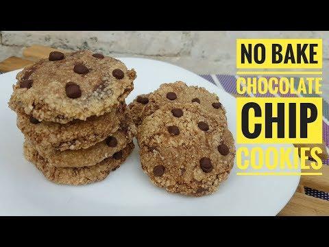 No Bake Chocolate Chips cookies  (Oatmeal Cookies)
