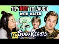 Download  Try to Watch This Without Laughing or Grinning WITH WATER!!! #4 (ft. FBE STAFF) MP3,3GP,MP4