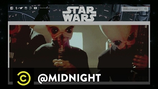 "The Sexiest ""Star Wars"" Song In Australia - @midnight with Chris Hardwick"