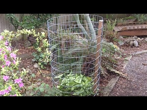 How to Build a Compost Bin in Under 15 Minutes and CHEAP