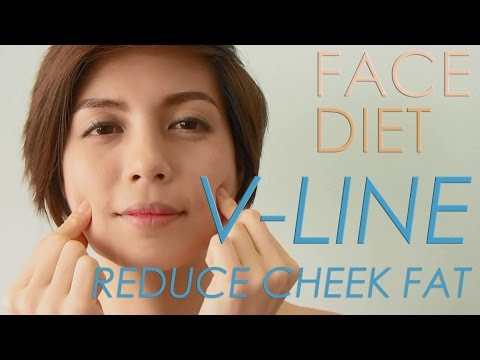 FACE DIET : 8. REDUCE CHEEK FAT FACE FAT ลดแก้มอ้วนยุ้ย #iHealthiness