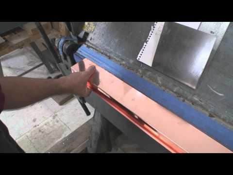How to Bend Copper Chimney Flashing