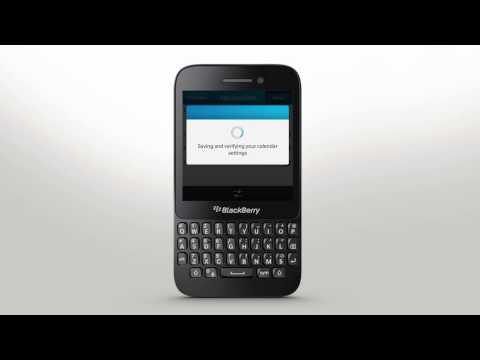 Account Setup: BlackBerry Q5 - Official How To Demo