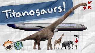 Download The LARGEST DINOSAURS in the Entire World: Titanosaurs (largest, longest, tallest) Video
