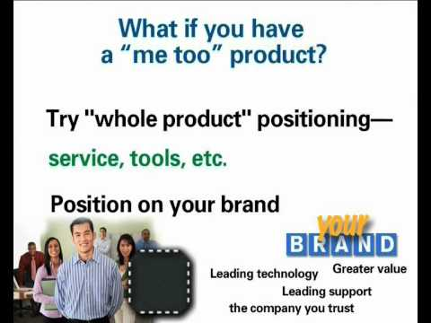 Write an Effective Positioning Statement