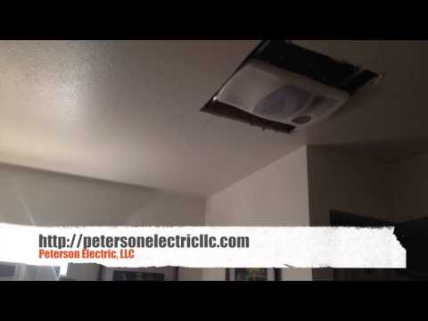 What To Expect When Replacing An Older Heat Light Fan Bathroom Fan