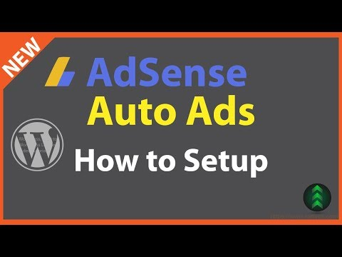 How to Setup Google AdSense Auto Ads on WordPress
