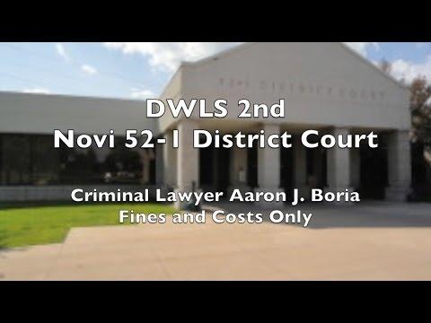 DWLS Novi - Novi Lawyer - 52-1 District Court