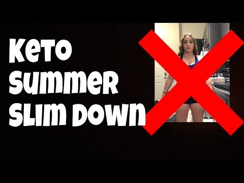 Keto Summer Slim Down Day 1 | Full Day of Eating, Macros, Supplements and More!