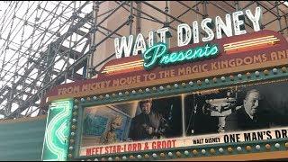 A Sneak Peek of the New Hollywood Studios   Walt Disney Presents & Grand Avenue Construction