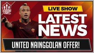 Nainggolan To Man Utd Plus Perisic Fabinho Morata Pereira Latest Transfer News