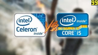 Celeron vs i5: Gaming Performance