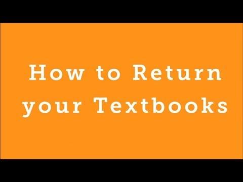 BookRenter.com - How to Return your Textbooks